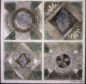 Seed Collograph 2